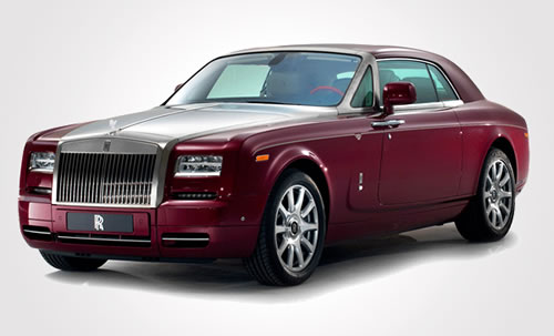 A one of its kind Ruby-studded Rolls-Royce Phantom to go on sale in Abu Dhabi