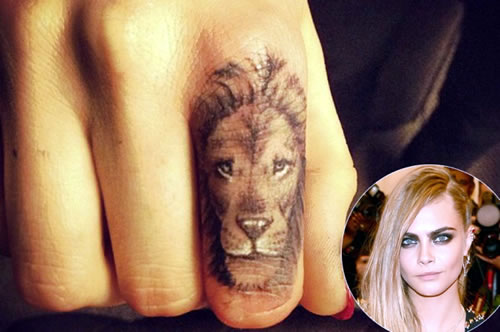 Cara Delevingne wants Cheesy Tattoo