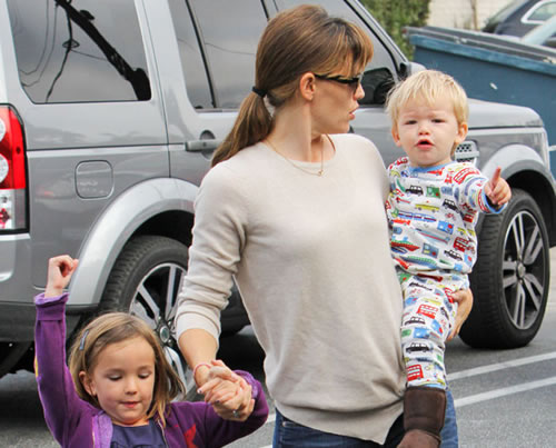 Jennifer Garner & Ben Affleck's Son Samuel Has Awesome Pajamas