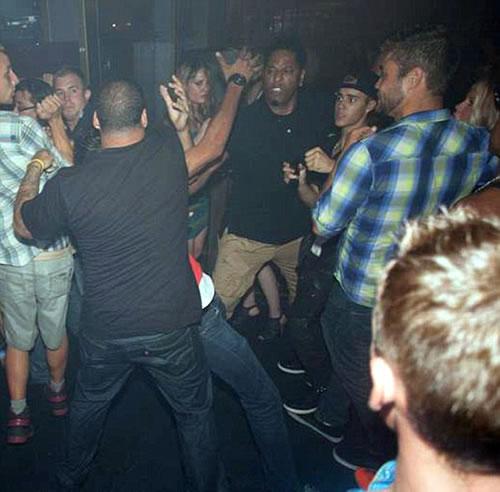 Justin Bieber Toronto Nightclub