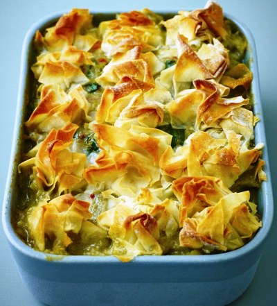 Quickish Thai fish pie image