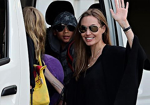 Angelina Jolie's Kids Eat Kangaroo And Grubs
