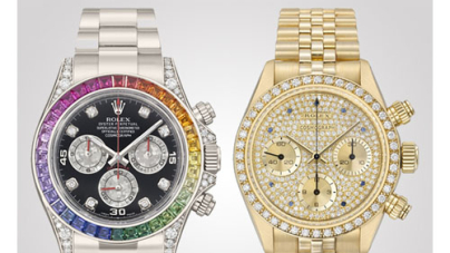 Christie's to auction 50 rare Rolex Daytonas