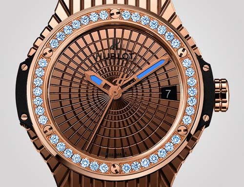 Hublot Big Bang Caviar Lady 305 time piece