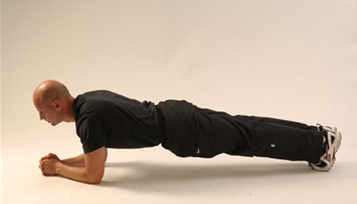mens plank exercise
