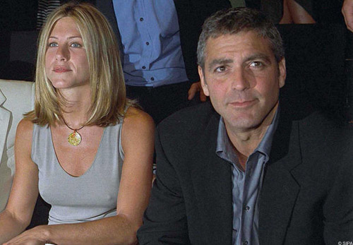 Jennifer Aniston Holidays With George Clooney