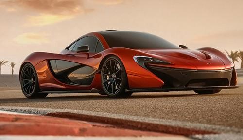 Stunning McLaren P1 Supercar