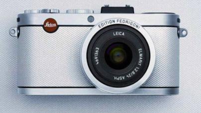 Leica Wraps X2 Camera in Limited Edition White Fedrigoni Paper Skin