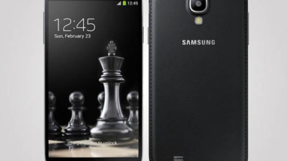 Samsung Black Galaxy S4 and S4 Mini With Faux Leather is Exclusive to Russia