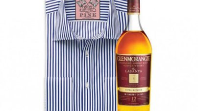 Glenmorangie Single Malt Scotch Whisky Partners with luxury Shirt