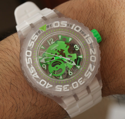 Swatch Scuba watch