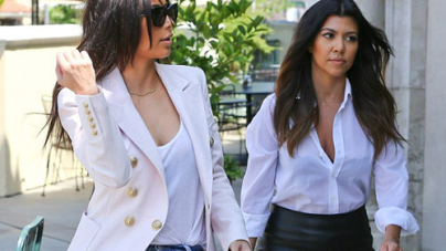 Kim Kardashian hits Starbucks in jeans