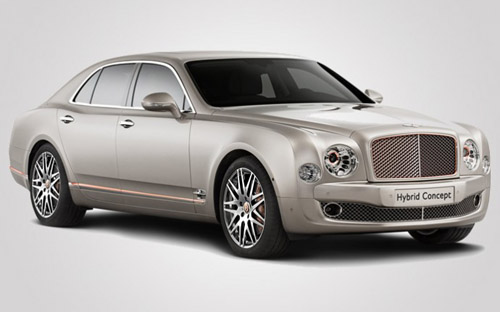 Bentley Shows off hybrid Technology in Mulsanne Model