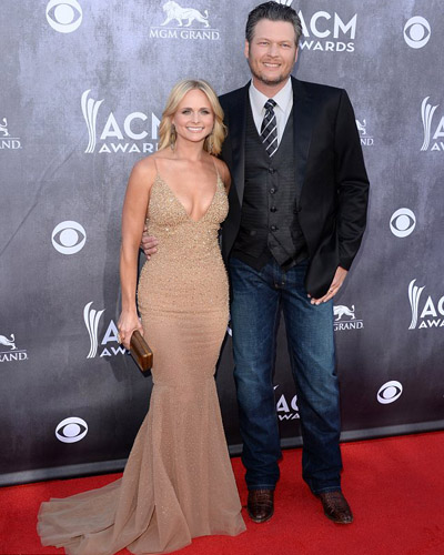Miranda and Blake Shelton images
