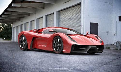 Ferrari 458 Based Project F by Ugur Sahin