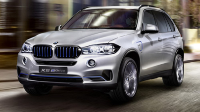 BMW X5 eDrive Concept appearance at the New York Auto Show