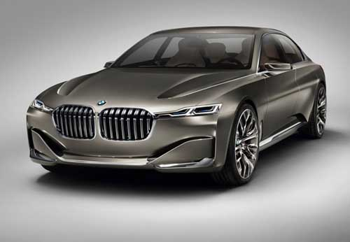 BMW 9-Series Vision Future Luxury Concept unveiled