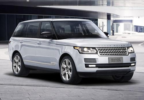 Range Rover Hybrid Long Wheelbase unveiled at the Beijing Motor Show