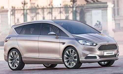 Ford Gives Vignale Treatment to S-MAX Concept for 2015 Car