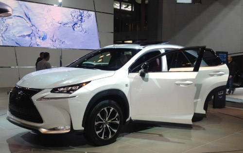 Lexus NX a Compact SUV Makes debut