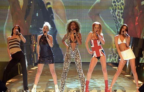Spice Girls meetup in Las Vegas without Victoria Beckham