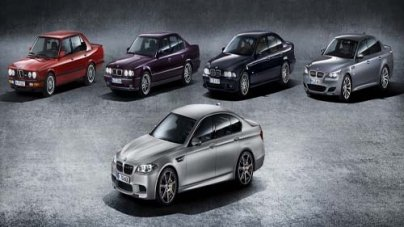 2015 BMW M5 '30 Jahre M5' is Most Powerful BMW Ever