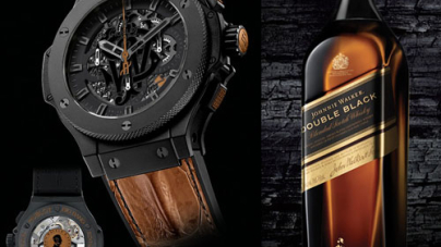 Hublot Big Bang Aero Johnnie Walker Whisky Limited Edition Watch