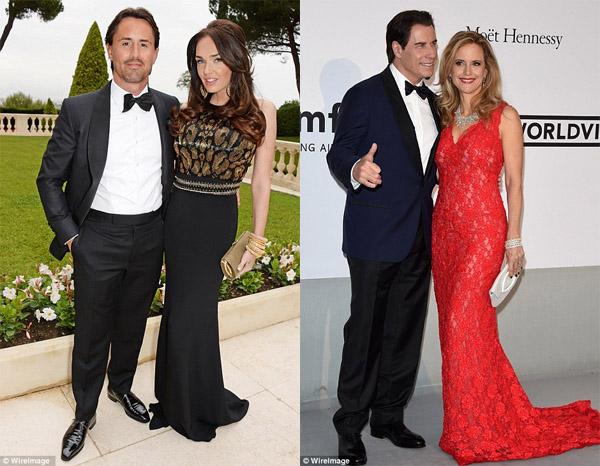 Rutland attended and  John Travolta
