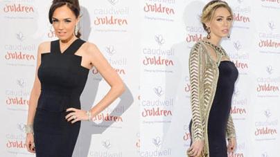 Tamara Ecclestone looks Slim Elegant Gown Charity Ball
