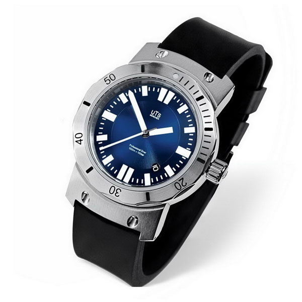 uts 4000m pacific blue watch