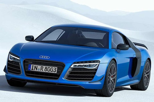 Audi R8 LMX: World's First Production Car With Laser Headlamps