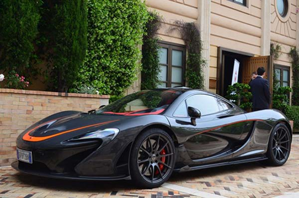 McLaren P1 Spotted in Monaco for the First Time