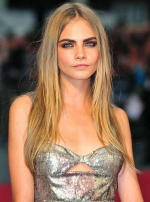 Cara Delevingne hair style