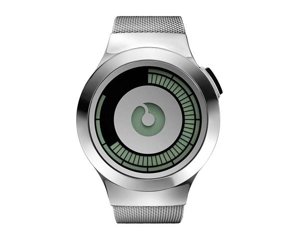 futuristic ziiiro saturn silver wrist