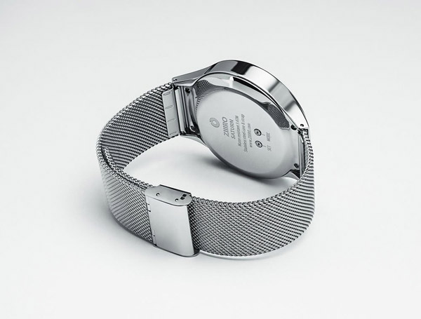 Saturn Silver Wrist Watch