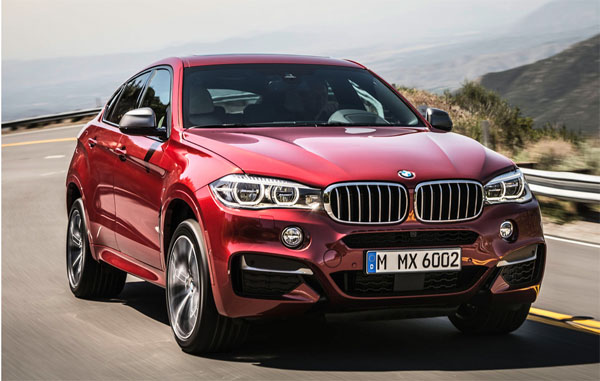 BMW X6 Revealed ahead of Moscow Motor Show Debut