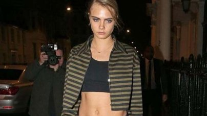 Cara Delevingne Clashes With Bosses Over Tattoos