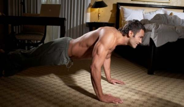 Standard Push-up for men