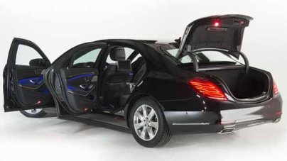 2015 Mercedes s Class Guard Armored Car