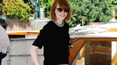 Emma Stone at the Venice Film Festival