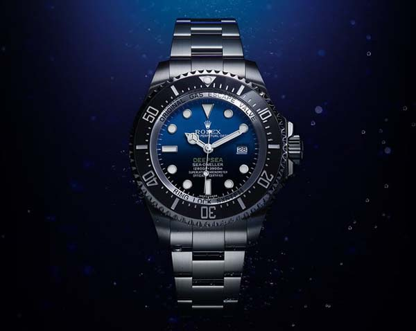 rolex deepsea men watch