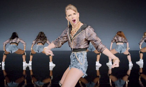 Taylor Swift is slammed for video clip Shake It Off