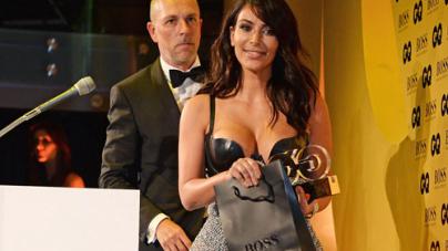 Kim Kardashian Woman of the Year at GQ Awards