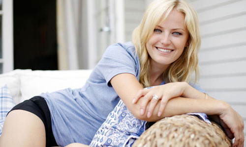 Malin Akerman in Junk Food and Level 99