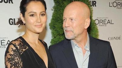 Bruce Willis and Emma Heming enjoying a Date Night