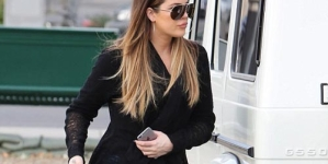 Khloe Kardashian showing off her Curvy Derriere