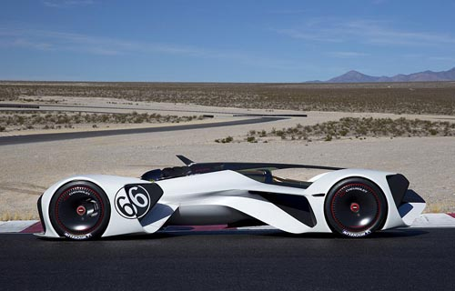 Chevrolet unveils 240mph concept car powered by LASER
