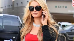Paris Hilton at Christmas Eve Shopping Trip