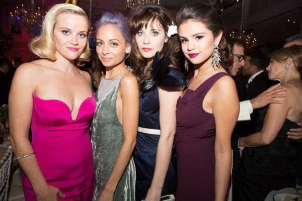 Reese Witherspoon, Nicole Richie and  Selena Gomez