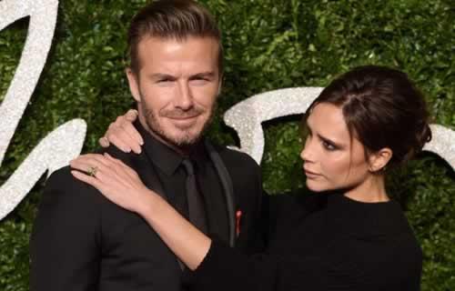Victoria Beckham Thanks Husband David for his Support